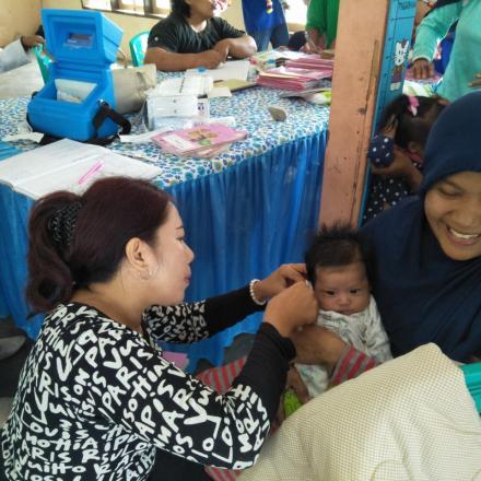 Album : Keg  POSYANDU MELATI 2 di Dusun 3
