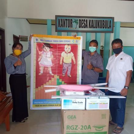 Album : Bantuan ke POSYANDU utk Pencegahan STUNTING